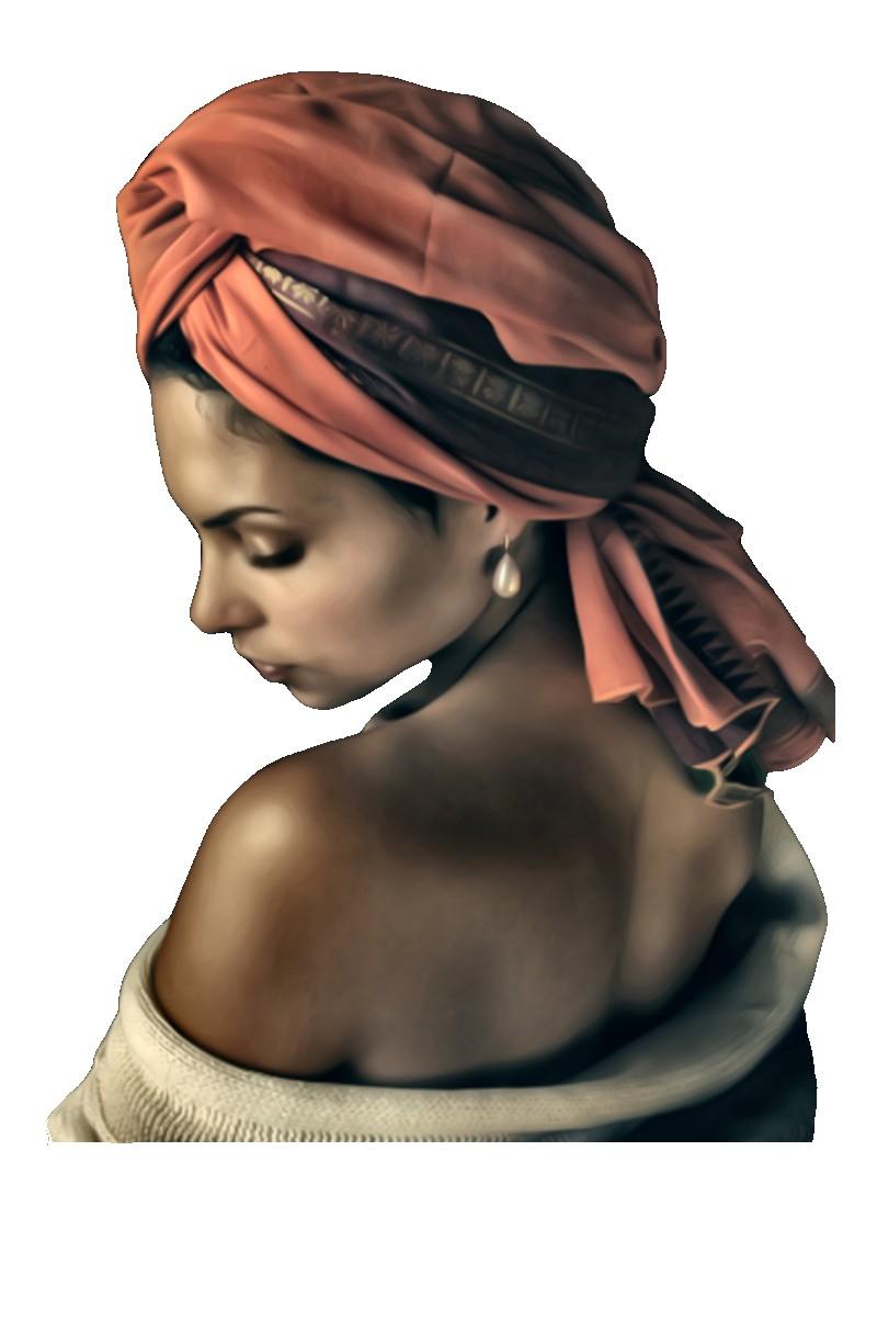 Femme metisse